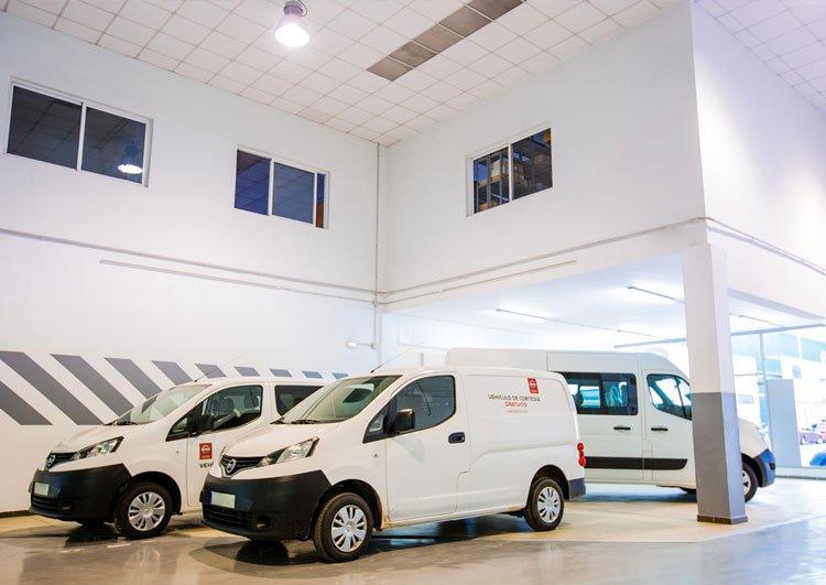 Servicio Oficial Nissan Industriales en Málaga